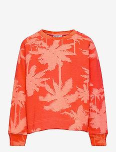 Margit - sweatshirts - neon coral