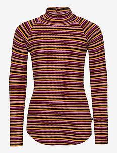 Romaine - langermede t-skjorter - multi jersey