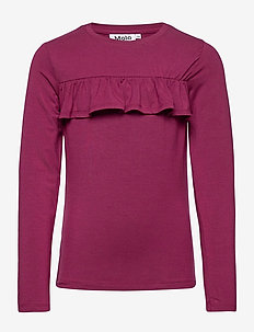 Rosita 2-Pack - langermede t-skjorter - sumak