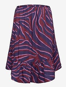 Brina - spódnice - zebra stripes