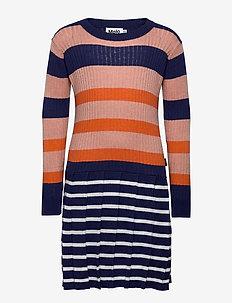 Carlin - dresses - faded stripe