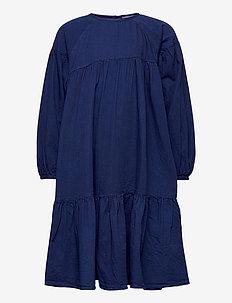 Cecily - robes - pure indigo