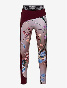 Olympia - leggings - motion flowers