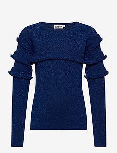 Gilah - strickmode - ink blue