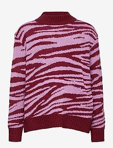 Gady - cardigans - zebra knit