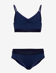 Jinny - bielizna komplet - ink blue