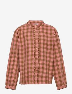 Reanna - shirts - autumn check