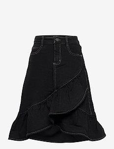 Belinda - röcke - black denim