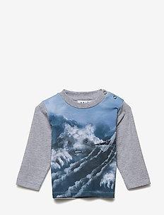 Enovan - long-sleeved t-shirts - cloud figures