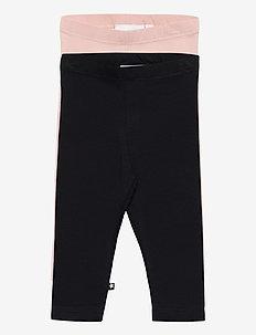 Nette 2-Pack - leggings - black blush