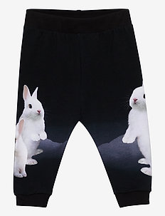 Susanne - sweatpants - white bunnies