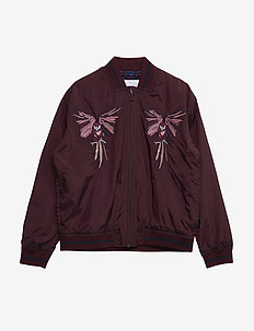 Hazey - bomber jackets - forestberry