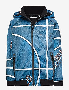Cloudy - softshell jacket - blue basket