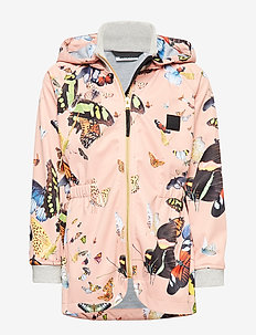 Hillary - kurtka softshell - flying butterflies