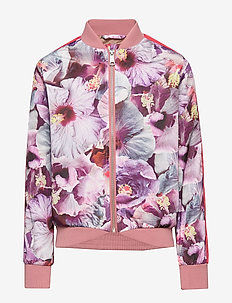 Hanna - bomber jackets - true hibiscus