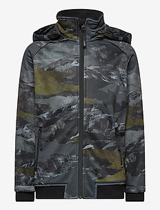 Cloudy - softshell jacket - mountain camo