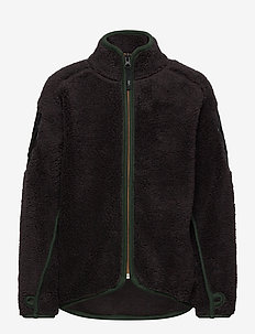 Ulan - fleece - brown darkness
