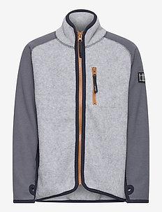 Ulrick - fleece - grey melange