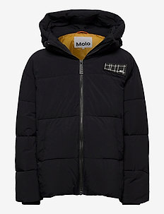 Halo - puffer & padded - black