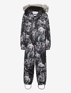 Polaris Fur - snowsuit - teddy