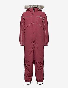 Polaris Fur Recycle - snowsuit - maroon