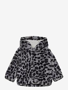 Ulva - faux fur - snowy leo fur