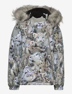 Hopla Fur - windjacken - snowy leopards
