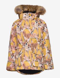 Cathy Fur - faux fur - fawns