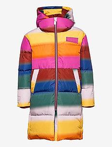 Harper - winterjacke - glowy rainbow