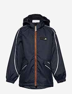 Heiko - shell jacket - carbon