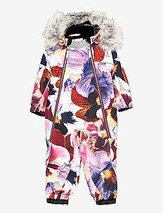 Pyxis Fur - snowsuit - giant floral