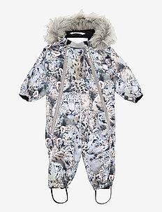 Pyxis Fur - snowsuit - snowy leopards