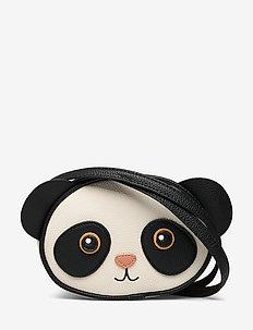 Panda Bag - totes & small bags - black/white