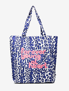 Tote Bag - totes & small bags - blue leo