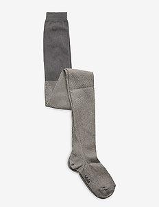 Glitter tights - rajstopy - silver