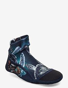 Zabi - slippers - sea turtles