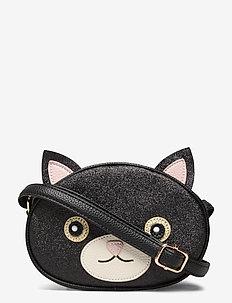 Cat Bag - petits sacs - black glitter