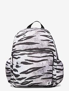 Big backpack - rygsække - white tiger
