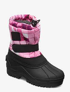 Driven - winter boots - pink disco