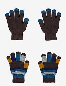 Keio - handschuhe - brown darkness