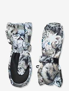 Igor - hatte og handsker - snowy leopards