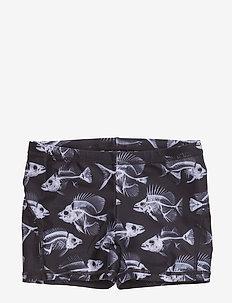Norton - swimshorts - fish skeleton