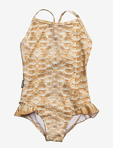 Noona - swimsuits - gold fishshell
