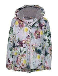 Molo Kids snow jacket Pearson Frozen flowers Winter