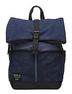 Roll top bag - DEEP BLUE