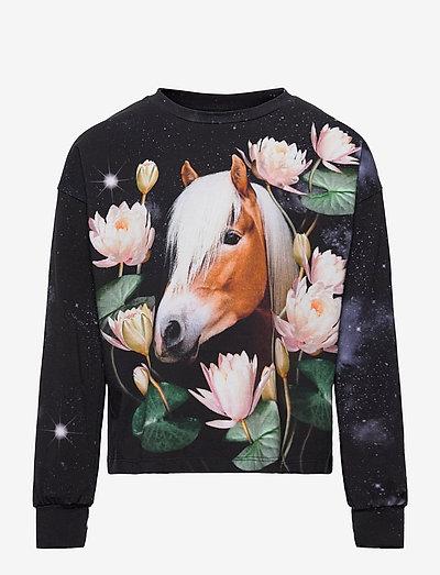 Reniza - langärmelig - water lily horse