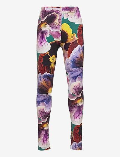 Niki - leggings - velvet floral