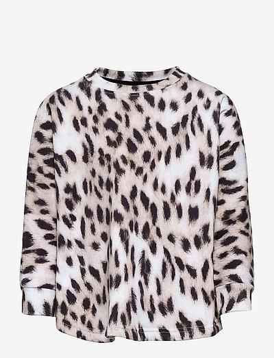 Marcella - langärmelig - snowy leo fur