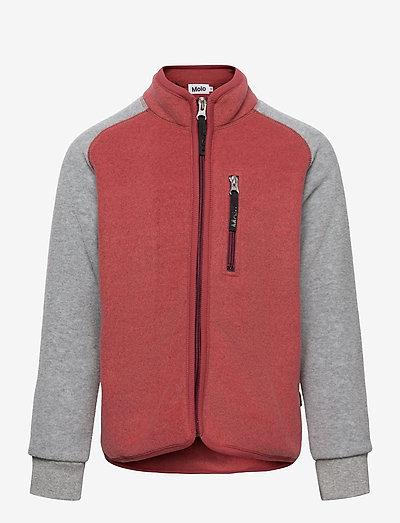 Unna - fleece jacket - maple