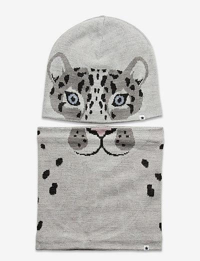 Kleo - winter accessory set - warm grey melange